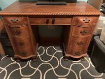 Wooden desk in St. Charles, Illinois