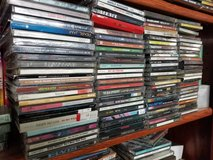 CD collection in Yucca Valley, California