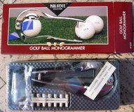 New! Park Ave Golf Ball Monogrammer in Bolingbrook, Illinois