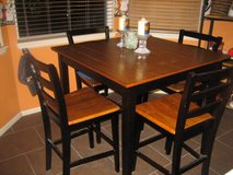 Tall Kitchen table with chairs in Colorado Springs, Colorado
