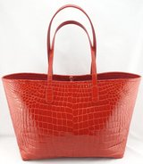 Tote - Handmade Tote Bag Crocodile Leather 100 % with Cites in Fort Drum, New York