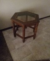 Glass top end table in Fort Knox, Kentucky