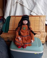 Native American Doll in Fort Knox, Kentucky