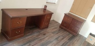 Executive Desk and Cabinet in Travis AFB, California