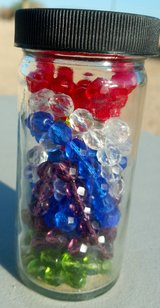GLASS CRYSTAL CUT BEADS in Yucca Valley, California