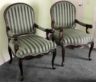 PAIR OF QUEEN ANNE BASSETT ACCENT CHAIRS in Nellis AFB, Nevada