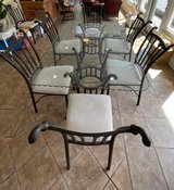 Glass top table w/8 chairs in Beaufort, South Carolina