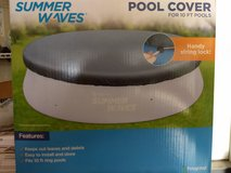 Summer Waves itex pool cover for 10 ft pools in Plainfield, Illinois