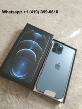 Apple iPhone 12 Pro Max - 128GB-5G - Pacific Blue (Unlocked) BRAND NEW in Nellis AFB, Nevada