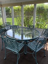 Outdoor table and 7 chairs in Plainfield, Illinois