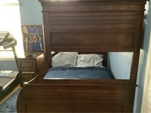 Wood Twin over full bunk bed in Bellaire, Texas