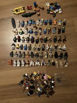 Lego minifigures lot w/parts & accessories in The Woodlands, Texas