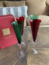 Christmas Champagne Flutes in Bolingbrook, Illinois
