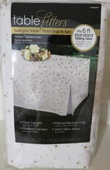 Brand New- Fitted Reusable Table covers in Spring, Texas