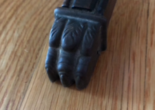 Small toe cap for antique table in Plainfield, Illinois