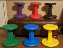 Kids Kore Wobble Chairs- set of 6 in Spring, Texas