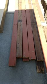 2x6 red wood deking boards.good for building patio furniture in Travis AFB, California