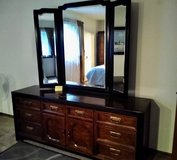 Bedroom Dresser with Mirror in Bolingbrook, Illinois