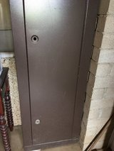 Double locking metal cabinet in Yucca Valley, California