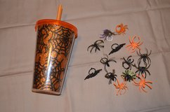 Halloween cup and rings in Fort Campbell, Kentucky