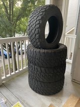 35x12.5 R20 Patriot MT (Used) in The Woodlands, Texas