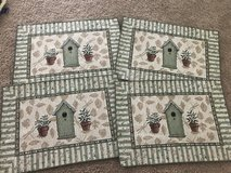 4 Birdhouse Placemats in Chicago, Illinois
