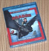 NEW How To Train Your Dragon Blu-Ray + DVD + Digital 2-Disc Edition in Plainfield, Illinois