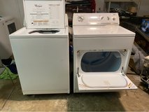 Whirlpool washer and dryer in Jacksonville, Florida