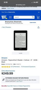 DRASTICALLY REDUCED***BRAND NEW Kindle Paperwhite With WiFi and Cellular Connectivity in Kingwood, Texas