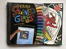 Klutz Paper Stained Glass Activity Book in Ramstein, Germany