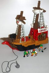 Fisher Price Great Adventures Pirate Ship in Chicago, Illinois