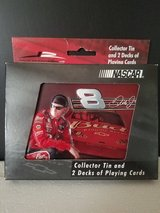 NIB!  Dale Earnhardt Jr #8 NASCAR Bicycle Playing Cards in Collectible Tin in Bolingbrook, Illinois