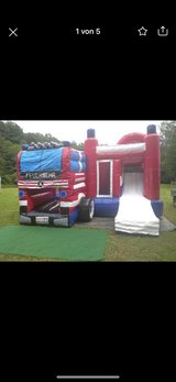 Fire Brigade Bouncy Castle for Rent in Ramstein, Germany