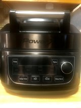 PowerXL 1550W 6-qt 12-in-1 Grill Air Fryer Combo with Glass Lid in Travis AFB, California