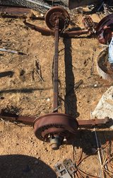 """Trailer Axle 62"""" leaf springs 36"""" in Yucca Valley, California"""