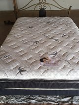 Organic Cotton Queen Bed, Frame, and more! in Yucca Valley, California