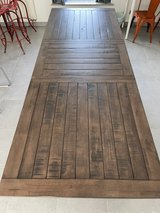 Large dining room table with leaf in Ramstein, Germany