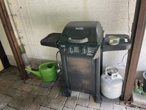 BBQ Grill and gas cannister in Ramstein, Germany