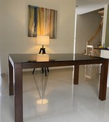 Glass Top Dining Table in Ramstein, Germany