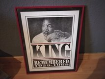 Martin Luther King orig. 90's Poster in Ramstein, Germany