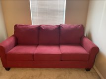 Red Sofa bed for sale in St. Charles, Illinois
