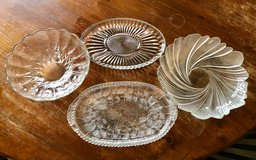 Beautiful large, thick glass platters in Travis AFB, California