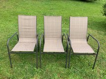 3 outside chairs in Ramstein, Germany