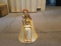 Very very rare yellow coloured antique hummel madonna in Ramstein, Germany