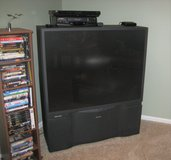 TOSHIBA PROJECTION 50 INCH TV - MODEL TN50V71 - WORKS in Plainfield, Illinois