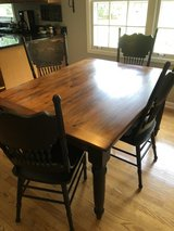 farm table &  chairs in St. Charles, Illinois