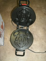 Vintage Vitantonio Chrome Mickey Mouse Waffle Maker in its original box in Glendale Heights, Illinois