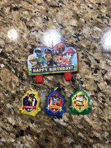 Paw Patrol Birthday Candles in Plainfield, Illinois