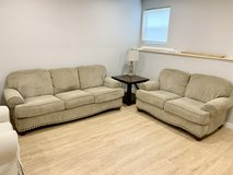 Great condition couch and loveseat in Plainfield, Illinois