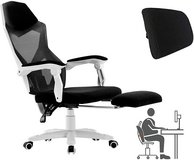 Ergonomic Gaming Office Chair with Footrest - New! in Plainfield, Illinois